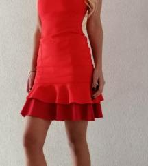 Koraljna haljina xs