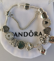 Pandora narukvica, srce, nova