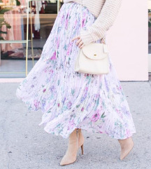 H&M plisirana suknja
