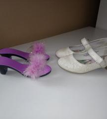 Cipele i natikače na petu za djevojčice