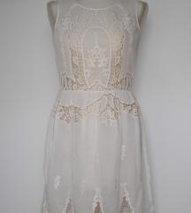 Zara Woman čipkasta haljina