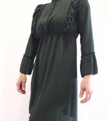 Zelena haljinica s PT