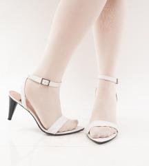 Bijele sandale