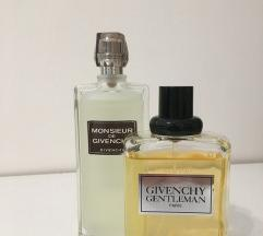 Givenchy Gentleman and Monsieur