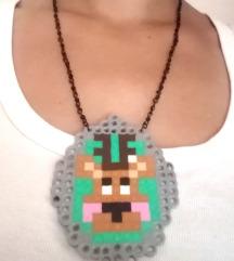 Jelen pixel ogrlica