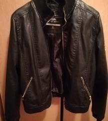 Ženska kožna jakna 42