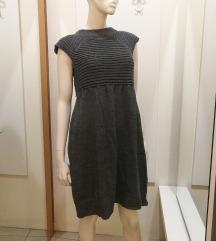 Pletena široka haljina