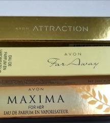 Mini edp parfemi..1 za 20, 2 za 36, 3 za 50 kn