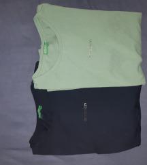 Benetton majice s metalik logom