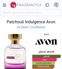 Avon Artistique Patchouli Indulgence