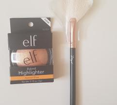 E.L.F baked highlighter +Zoewa četkica