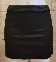 Mini suknja crna minica
