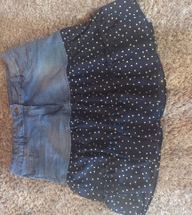 Kratka suknja traper40/42