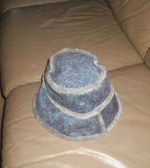 Plavo sivi novi  šešir