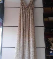 H&M haljina, prekrasna, do gležnja, M vel