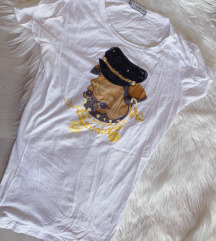 DSQUARED2 bijela majica,  original