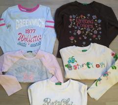 Lot Benetton majice djevojcice