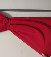 Crvena lagana haljina S/M