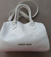 Bijela Armani torba original