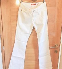 Miss Sixty bell bottom (trapez) bijele traperice