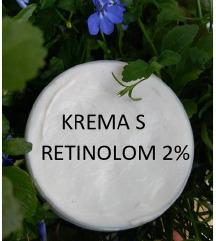 Krema s retinolom, ceramidima i dermo-filerom