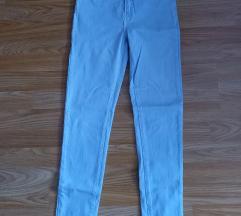 Skinny traperice visokog struka svjetlo plave