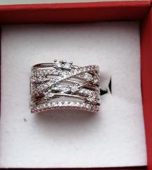 Rezervirano Srebrni prsten 925