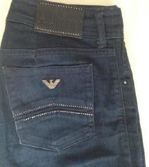 Armani jeans traperice, vel 27 /S