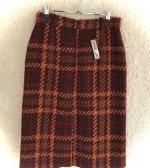 Suknja Maliparmi s etiketom