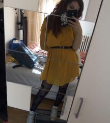H&M oker haljinica