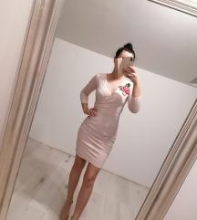 Svijetlo roza haljina