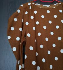 Zara točkasta haljina