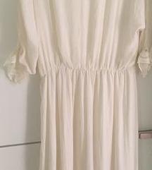 Zara bijela boho haljina