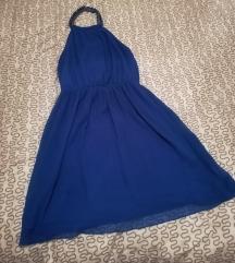 ZARA plava haljina M vel.