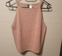Novi h&m ribbed crop top M/L
