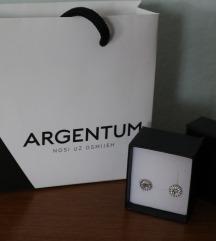 Nove srebrne Argentum naušnice