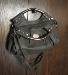%sniženo% siva torba sa metalnim ručkama