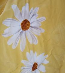 Vintage Lisca žuta košulja sa ivančicama, 42