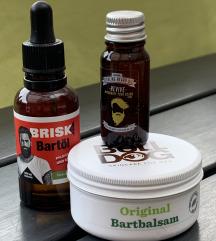 Bull dog balzam i Brisk ulje za bradu + poštarina
