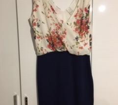 Bandage cvjetna haljin + gratis poklon jakna %