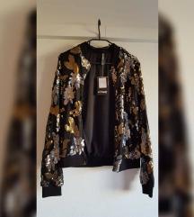 Sequin jakna nova s etiketom u pola cijene REZ