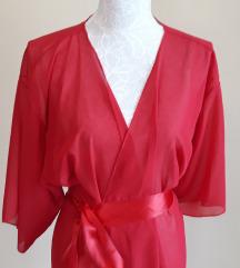 Crveni prozirni kimono vel.l/xl