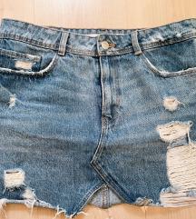 Zara jeans suklja