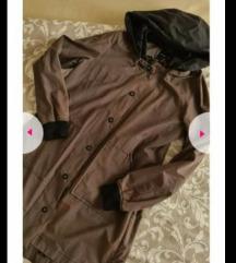 Šuškavac maslinasta jakna