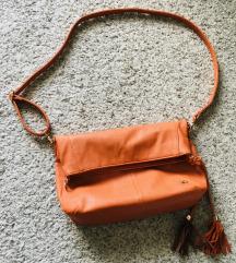 Narančasta tote bag torba