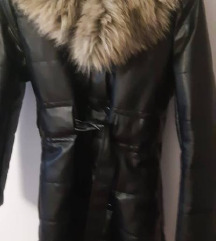 Nova zimska kožna jakna