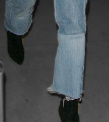 50% off ZARA velvet ankle sock booties