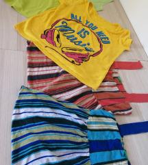 Lot ljetnih majica S veličina
