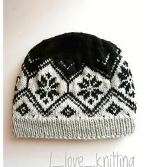 Pletena kapa za odrasle