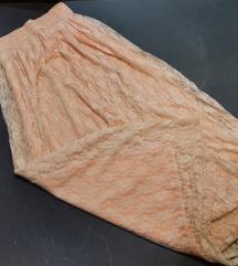 Boja breskve suknja M i L